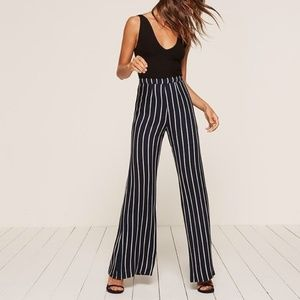 Reformation Sorrenti High Rise Wide Leg Pants 12